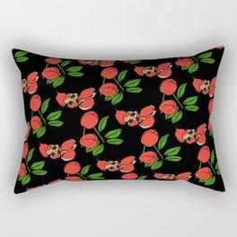 Jamaican Botanicals - Ackee (neon) Rectangular Pillow