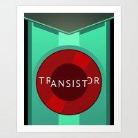 transistor Art Prints featuring Transistor by Spiritius