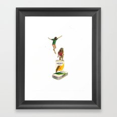 Choices Framed Art Print