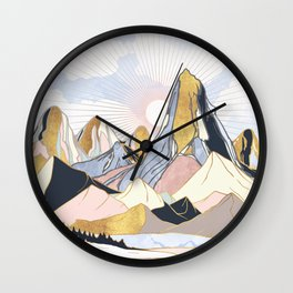 Summer Morning Wall Clock