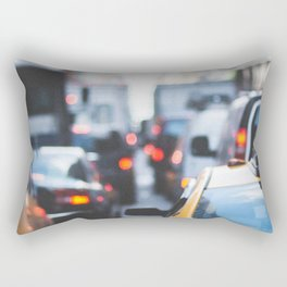 TAXI - CAB - CITY - CARS - PHOTOGRAPHY Rectangular Pillow