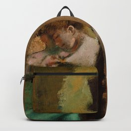 "Edgar Degas ""Dancers, Pink and Green"" Backpack"