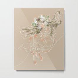 Flowergirl 04 - Asphodel Metal Print