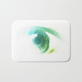 the stink eye Bath Mat
