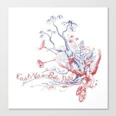 East Van Bike Polo Canvas Print