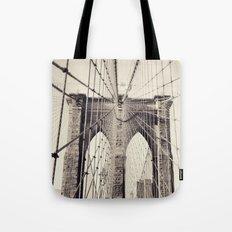 Brooklyn Bridge - New York Tote Bag