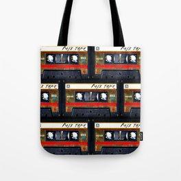 Retro classic vintage gold mix cassette tape Tote Bag