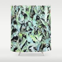 plant Shower Curtains featuring Plant by Minomiir