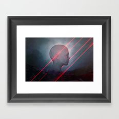 Enumerated Lives Framed Art Print