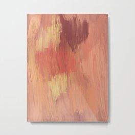 Pinks and Yellows Metal Print