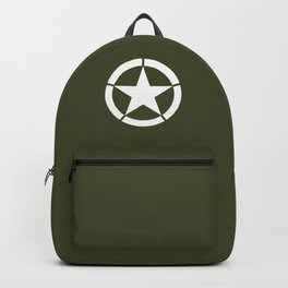 US Army Star Backpack