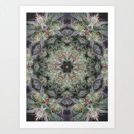 Crystal Wheel Art Print