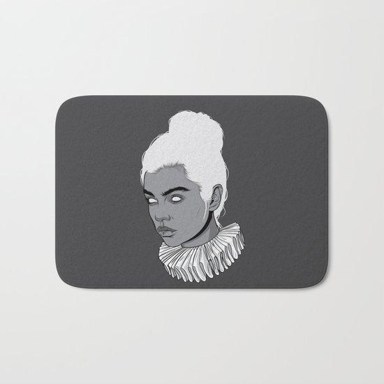 Gray lady Bath Mat