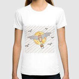 Bat-cat T-shirt