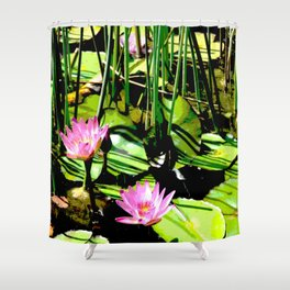 The Pond I Shower Curtain