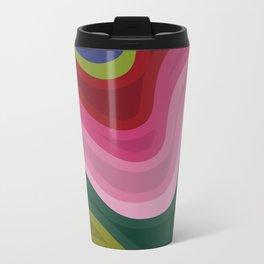 Abstraction 2 Metal Travel Mug