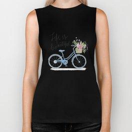 Life Is Beautiful Biker Tank
