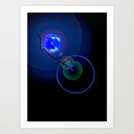 Light Game 2 Art Print