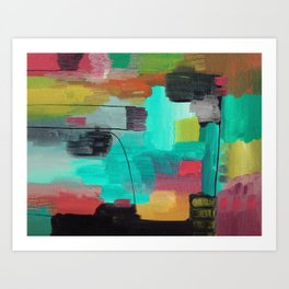 Abstract 78 Art Print