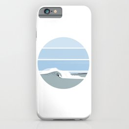 Surfer's Glory Day iPhone Case