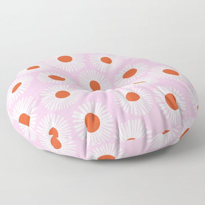 Daisy Starbusrt Floor Pillow