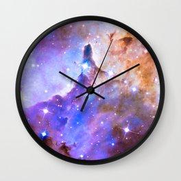 Intergalactic Stars Wall Clock