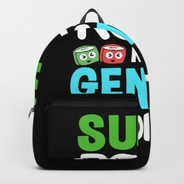 Sushi Roll Gender Roles Feminist Kawaii Maki Backpack