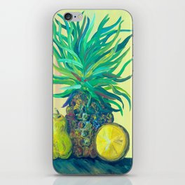 Pear and Pineapple iPhone Skin