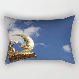 La lune belge Rectangular Pillow