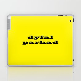 Dyfalparhad - Persistence Laptop & iPad Skin