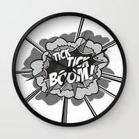 Tick Tick Boom! Wall Clock