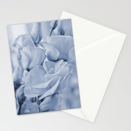 Soft blue lisianthus - Hampton Style Stationery Cards