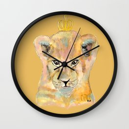 Born to be king Wall Clock