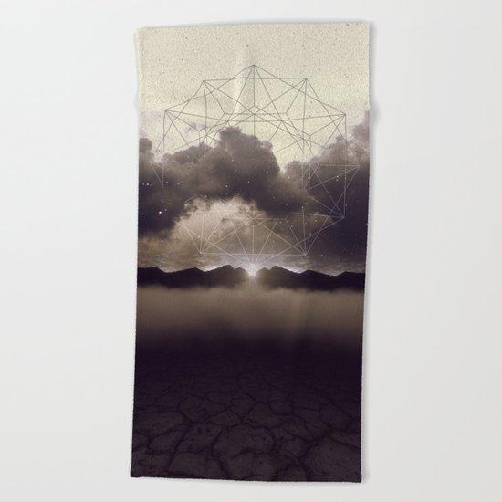 Beyond the Fog Lies Clarity | Dawn Beach Towel