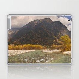 Azusa River and Autumn colours in Kamikochi, Japan Laptop & iPad Skin