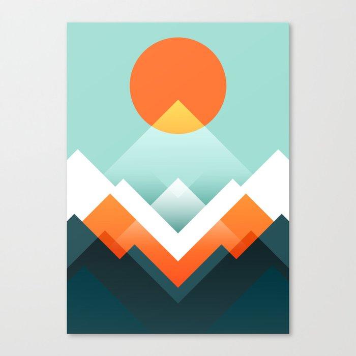 Everest Leinwanddruck
