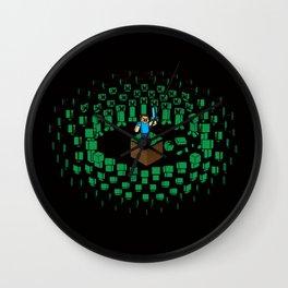 Zombie Mob Wall Clock