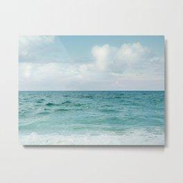 Nothing But Ocean Metal Print