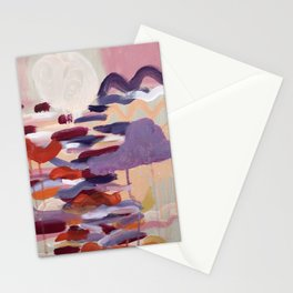 Never go too long without watching the sunset Stationery Cards