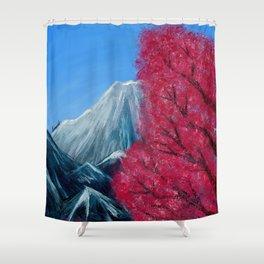 Sakura Season Shower Curtain