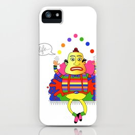 Life is a juggle! iPhone Case
