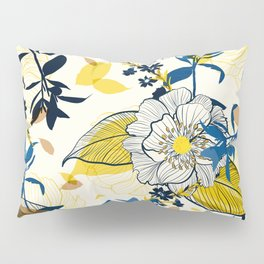 Flowers patten1 Pillow Sham