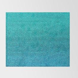 Faux Glitter Throw Blanket