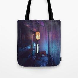 Tokyo Nights / Lonely Lantern / Liam Wong Tote Bag