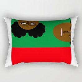 bbnyc african girls Rectangular Pillow