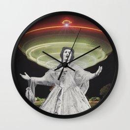 Alien Jane Wall Clock