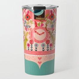 I'm Cuckoo For You - Valentines Cuckoo Clock  Travel Mug