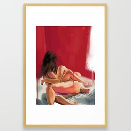 Morning Caress Framed Art Print