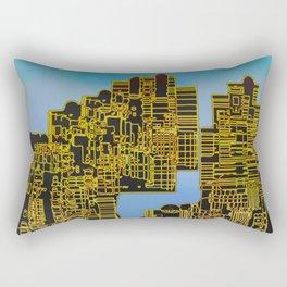 Atlante 12-07-16 / LIVING in ROCKS Rectangular Pillow