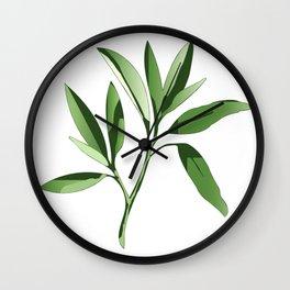 Sage Wall Clock